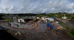 Demolition Starts at Severn Quay